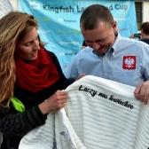 Langeland Cup 2019 - jak co roku SSP ufundowało nagrodę dla najlepszej kobiety